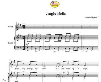 FUN CHRISTMAS SONGS - JINGLE BELLS