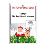 FUN CHRISTMAS SONGS - RUDOLPH THE RED-NOSED REINDEER