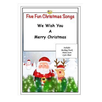 FUN CHRISTMAS SONGS - WE WISH YOU A MERRY CHRISTMAS