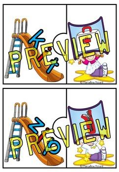 SLIDE AND READ CVC WORDS PUZZLES: KINDERGARTEN LITERACY CENTER: CVC ACTIVITIES