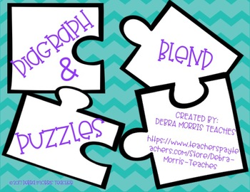 FUN Diagraph and Blend Puzzles