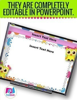 fun editable powerpoint templates packflapjack educational, Modern powerpoint