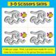 FUN! Fine Motor: 3-D Advanced Scissors Skills (SEA ANIMAL THEMED)