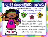 FUN Fix, Mark, and Draw Level 1, Edition 2 UNIT 6