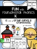 FUN Foundational Phonics (12 Weeks of Interactive Games &