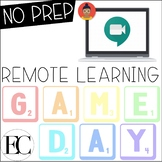 FUN GAME DAY: Remote Distance Learning | NO PREP Digital M