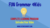 FUN Grammar 4Kids- Introduction Video