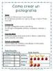 Bar graph pictograph Spanish project /Proyecto grafico de barras y pictografia