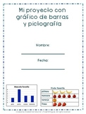 Bar graph pictograph Spanish project /Proyecto grafico de