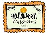 FUN! Halloween Literacy Workstations