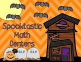 FUN Halloween Math Centers to teach Addition and Subtraction