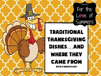 FUN History of Thanksgiving Food PowerPoint w/ 8 Hilarious Video Clips!