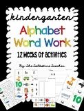 FUN Kindergarten Phonics Word Work