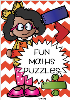 FUN MATH PUZZLES ! FREEBIE