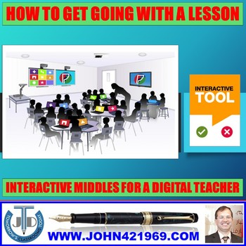FUN MIDDLES TO GET GOING IN A LESSON: PRESENTATION