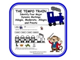 FUN MUSIC TEMPO TRAIN WORKSHEET!!!- Great for Assessment & Subs! w Answer Key