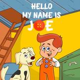 "SONG:  ""Hello My Name is Joe"" w/ VOCAL & KARAOKE recordings"