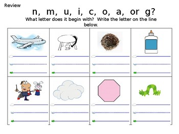 FUN PHONICS Kindergarten POWER POINT Lessons! KINDERGARTEN Unit 1, Week 5