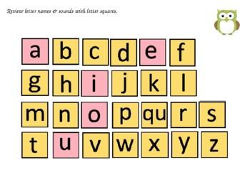 FUN PHONICS Kindergarten POWER POINT Lessons! KINDERGARTEN Unit 2, Week 3