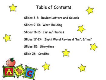 FUN PHONICS Kindergarten Power Point Lessons! KINDERGARTEN Unit 4, Week 2