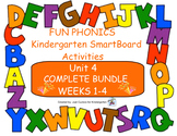 FUN PHONICS Kindergarten SmartBoard Lessons! KINDERGARTEN UNIT 4, WEEKS 1-4 ZIP