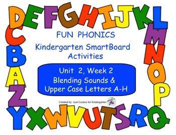 FUN PHONICS Kindergarten SmartBoard Lessons! KINDERGARTEN Unit 2, Week 2