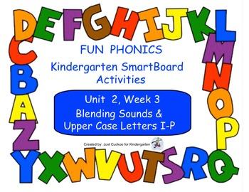 FUN PHONICS Kindergarten SmartBoard Lessons! KINDERGARTEN