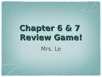 FUN Periodic Table & Ionic Bonding Review Game!!!