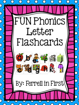 FUN Phonic Letter Cards
