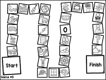 FUN Phonics Beginning Sounds Board Games