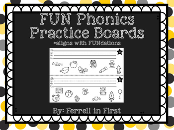FUN Phonics Beginning Sounds & Letter Writing Activities