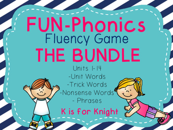 FUN-Phonics Fluency Game THE BUNDLE