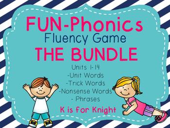 FUN-Phonics Fluency Game THE BUNDLE