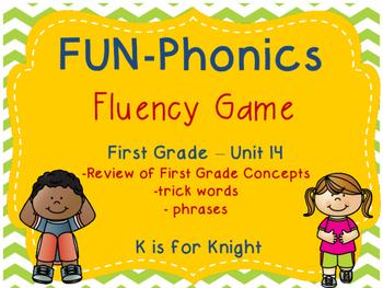 FUN-Phonics Unit 14 Fluency Game