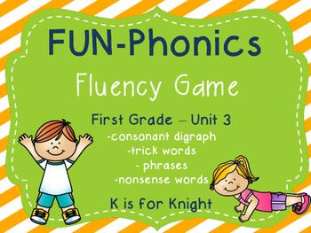FUN-Phonics Unit 3 Fluency Game