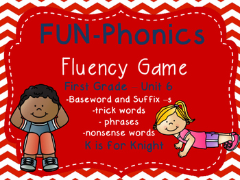 FUN-Phonics Unit 6 Fluency Game