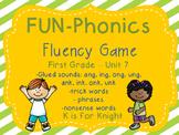 FUN-Phonics Unit 7 Fluency Game