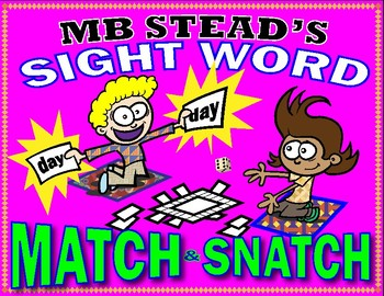 FUN SIGHT WORD ACTIVITIES fast word recognition 1st GRADE (games for 6 weeks)