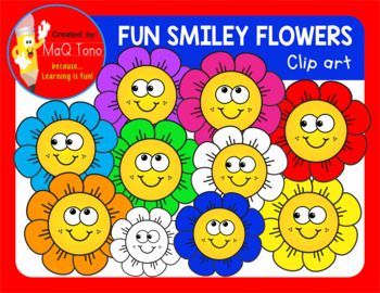 FUN SMILEY FLOWERS