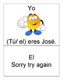 FUN Subject pronouns activity | Avancemos 1 | Spanish grammar game