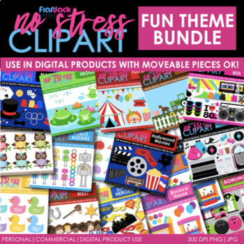 FUN Themes Clipart BUNDLE