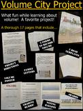 FUN Volume City Project - parent letters, rubrics, templat