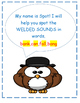 FUN!  WELDED SOUNDS-GLUED SOUNDS- Spot the Sounds featuring SPOT the OWL