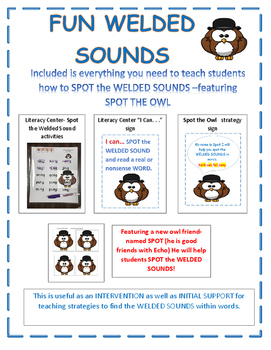 FUN WELDED SOUNDS- Spot the Welded Sounds featuring SPOT the OWL