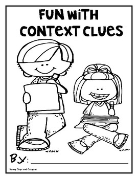CONTEXT CLUES SHORT STORIES WITH SILLY WORDS