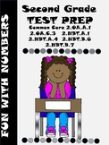 SECOND GRADE COMMON CORE TEST PREP FUN WITH NUMBERS