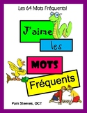 SIGHT WORDS - 64 French High Frequency Words - Activities, Games, Worksheets