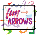 FUN arrows--CLIP ART