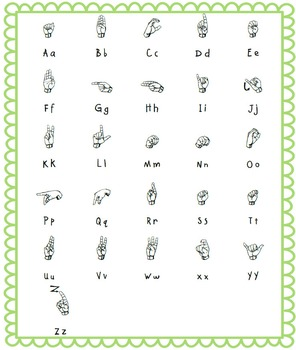 Using ASL (American Sign Language) FUN with Letters