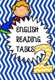 FUNCTIONAL ENGLISH READING COMPREHENSION 2 - NO PREP!